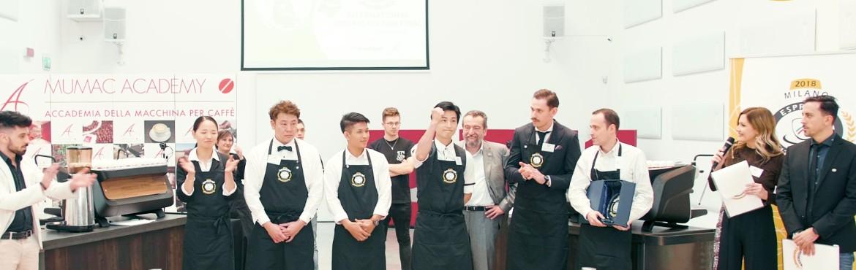 La finale di Espresso Italiano Champion 2018